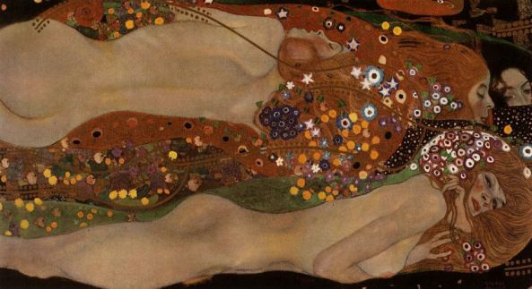 Water Serpents II, Gustav Klimt by Belvedere
